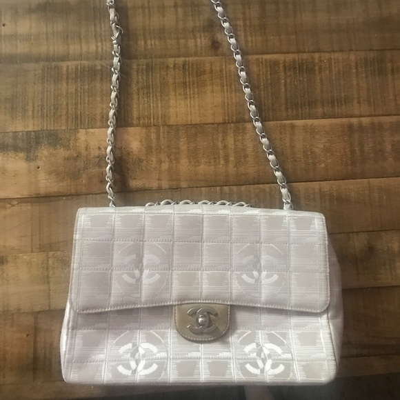 CHANEL Handbags - Chanel Travel Ligne Medium Flap Bag